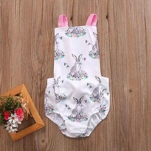 Other - Children's Bunny easter outfit romper so cute nwt